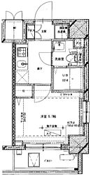 (仮称)川崎藤崎3丁目マンション[404号室]の間取り