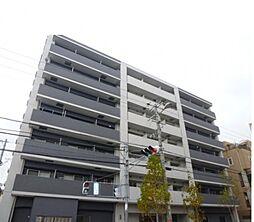 クローバーソレイユ南田辺[3階]の外観