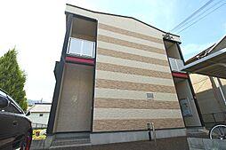 滋賀県大津市下阪本3の賃貸アパートの外観