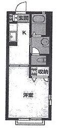 ソレーユ西船[2階]の間取り