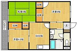 コーポ吉松[305号室号室]の間取り