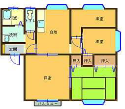 大釜駅 5.3万円