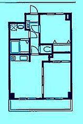 ベルデュール宮前平[2階]の間取り