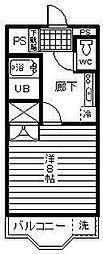メゾンFIII[105号室]の間取り