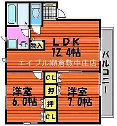 I.Mパルク C棟[1階]の間取り