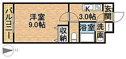 SACHIIII[3階]の間取り