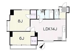 SETA東邦ビル(K09045366813)[6-W号室]の間取り