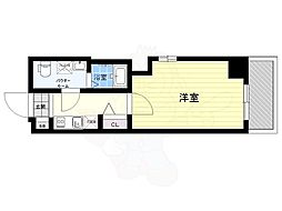 東武伊勢崎線 鐘ヶ淵駅 徒歩8分の賃貸マンション 1階1Kの間取り