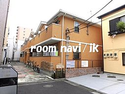 東京都荒川区東尾久2丁目の賃貸アパートの外観