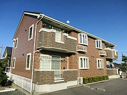 愛知県西尾市吉良町富好新田上川並の賃貸アパートの外観