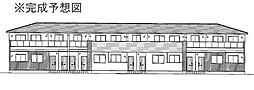 プロムナードメゾン弐番館 D[1階]の外観