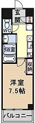 EAST GATE 京都[501号室号室]の間取り