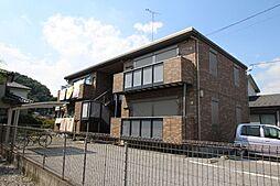 栃木県鹿沼市千手町の賃貸アパートの外観