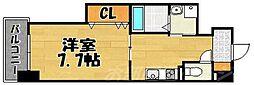 La Chanter(ラ・シャンテ)[2階]の間取り