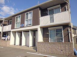 岡山県倉敷市児島小川5丁目の賃貸アパートの外観