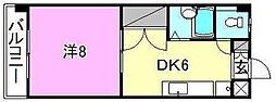 シェレナ辻町[209 号室号室]の間取り