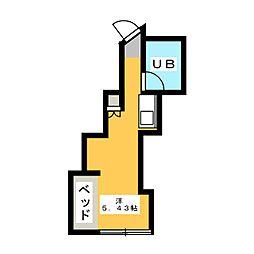 グリーンコーポ[2階]の間取り