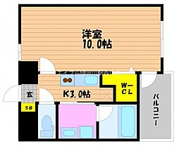 仮)春日町新築マンション[8階]の間取り