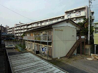 外観,2DK,面積40.42m2,賃料4.0万円,JR常磐線 水戸駅 徒歩17分,,茨城県水戸市白梅2丁目3番地