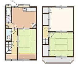 とみハウス[1階]の間取り