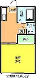 ファミーユ高橋[105号室]の間取り