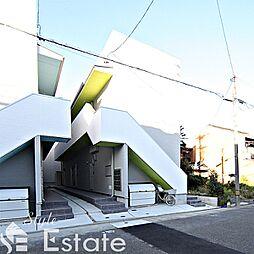 愛知県名古屋市西区枇杷島4丁目の賃貸アパートの外観