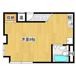 サンコーポHORI[3階]の間取り