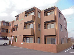 兵庫県加古川市西神吉町岸の賃貸マンションの外観