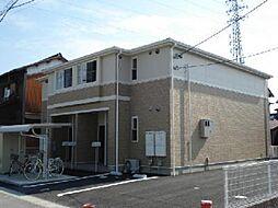 愛知県一宮市木曽川町外割田字蓮池の賃貸アパートの外観