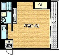 クレピス21[4階]の間取り