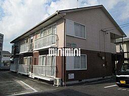 愛知県岡崎市天白町字河原の賃貸アパートの外観