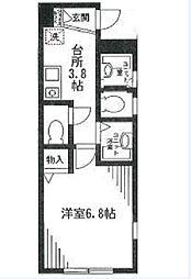 コスモ千川[3階]の間取り