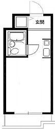 ユーアイマンション[407号室]の間取り