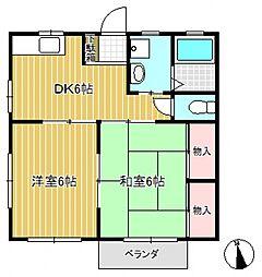 カーサV[2階]の間取り
