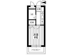 エクセレント稲田堤[1階]の間取り