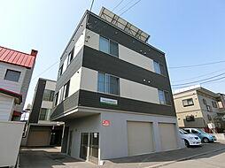 北海道札幌市白石区栄通10丁目の賃貸アパートの外観