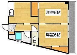 ルミナス加治木[3階]の間取り
