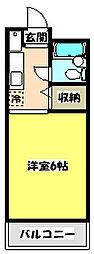 青木葉センタービル[4階]の間取り