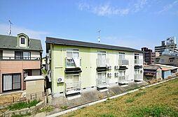 広島県広島市安佐南区東原2丁目の賃貸アパートの外観
