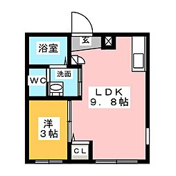 Ceres岩塚駅前 A[2階]の間取り