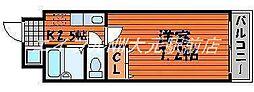 昭和ハイム東古松[5階]の間取り