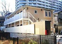 神奈川県川崎市高津区下作延2の賃貸アパートの外観