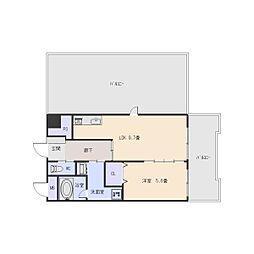 e-style[4階]の間取り