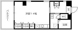 ロッヂングス東屋敷[310号室]の間取り