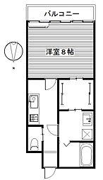 ボルックス/[1階]の間取り
