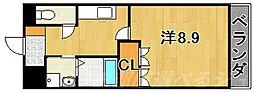 福岡県北九州市戸畑区銀座2丁目の賃貸マンションの間取り