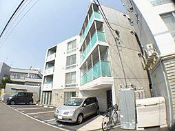 北海道札幌市西区発寒五条8丁目の賃貸マンションの外観