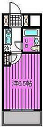 宮原ステーションプラザ[4階]の間取り