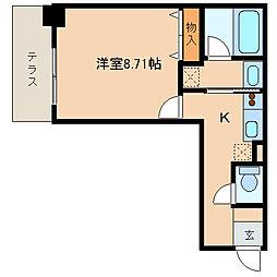 レジディア新川[403号室]の間取り