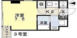 丸一内田ビル[4階]の間取り